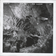 Fair Glacier, aerial photograph FAM 3120 87, Colorado