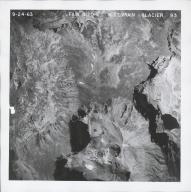 Saint Vrain Glacier, aerial photograph FAM 3120 93, Colorado