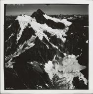 Glacier in North Cascades, aerial photograph 6613-44, Washington