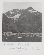Unknown glacier, John Hopkins Inlet, Alaska