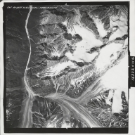 Talkeetna Mountains, aerial photograph M 826 245, Alaska