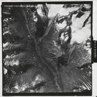 Talkeetna Mountains, aerial photograph M 832 25, Alaska