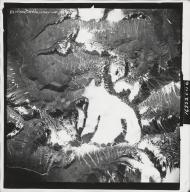 Talkeetna Mountains, aerial photograph M 832 64, Alaska
