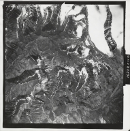 Yellowjacket Creek, aerial photograph M 836 29, Alaska
