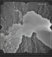 Shoup Glacier, aerial photograph S7948, Alaska