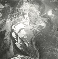 Thunderbird Glacier, aerial photograph GP 13-24, Montana