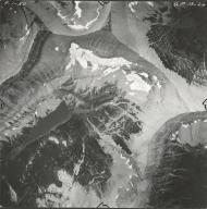 Miche Wabun Glacier, aerial photograph GP 13-26, Montana