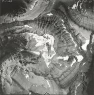 Whitecrow Glacier, aerial photograph GP 13-29, Montana