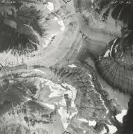 Whitecrow Glacier, aerial photograph GP 13-30, Montana