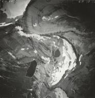 Ahern Glacier, aerial photograph GP 13-35, Montana