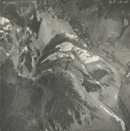 North Swiftcurrent Glacier, aerial photograph GP 13-47, Montana
