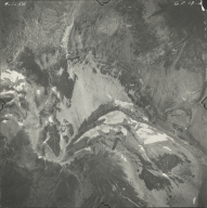 North Swiftcurrent Glacier, aerial photograph GP 13-48, Montana