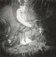 Sexton Glacier, aerial photograph GP 13-57, Montana