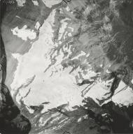 Harrison Glacier, aerial photograph GP 13-75, Montana