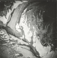 Piegan Glacier, aerial photograph GP 13-90, Montana