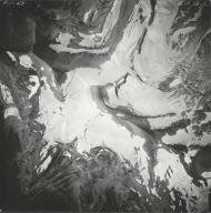Pumpelly Glacier, aerial photograph GP 13-93, Montana