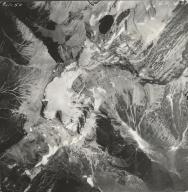 Grant Glacier, aerial photograph GP 13-99, Montana
