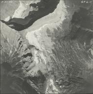 Mount Carter, aerial photograph GP 6-11, Montana