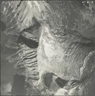 Mount Carter, aerial photograph GP 6-13, Montana