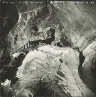 Grinnell Glacier, aerial photograph GP 6-32, Montana