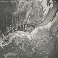 Red Eagle Glacier, aerial photograph GP 6-60, Montana