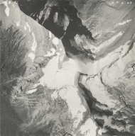 Jackson Glacier, aerial photograph GP 6-63, Montana