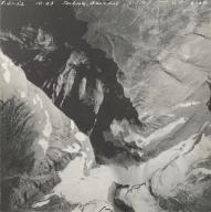 Jackson Glacier, aerial photograph GP 6-64, Montana