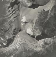 Piegan Glacier, aerial photograph GP 6-68, Montana