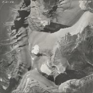 Piegan Glacier, aerial photograph GP 6-69, Montana