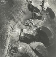 Hudson Glacier, aerial photograph GP 6-7, Montana