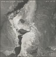 Piegan Glacier, aerial photograph GP 6-71, Montana