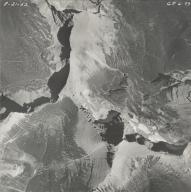 Piegan Glacier, aerial photograph GP 6-73, Montana