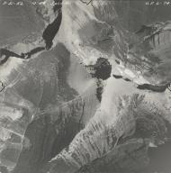 Piegan Glacier, aerial photograph GP 6-74, Montana