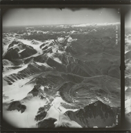 Okpilak Glacier, aerial photograph R-360 014, Alaska