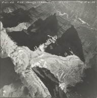 Mount Oberlin, aerial photograph GP 639, Montana