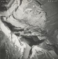 Logan Glacier, aerial photograph GP6-57, Montana