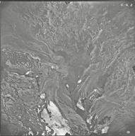 Collier Glacier, aerial photograph CG 2, Oregon