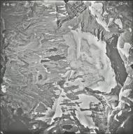 Sperry Glacier, aerial photograph 12-4, Montana