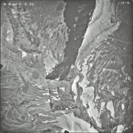 Sperry Glacier, aerial photograph 12-6, Montana