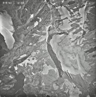 Sperry Glacier, aerial photograph 12A-4, Montana