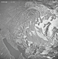 Jackson Glacier, aerial photograph 14-2, Montana