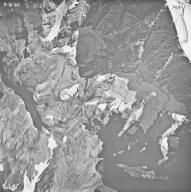 Grant Glacier, aerial photograph 14A-1, Montana