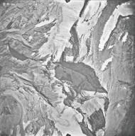 Jackson Glacier, aerial photograph 14A-4, Montana