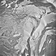 Blackfoot Glacier, aerial photograph 14A-5, Montana