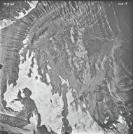 Pumpelly Glacier, aerial photograph 14A-7, Montana