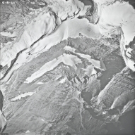 Pumpelly Glacier, aerial photograph 15-2, Montana