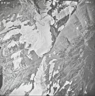 Jackson Glacier, aerial photograph 15A-1, Montana
