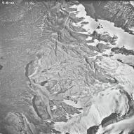 Blackfoot Glacier, aerial photograph 15A-4, Montana