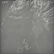 Kintla Glacier, aerial photograph 1E-4, Montana