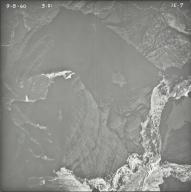 Upper Kintla Lake, aerial photograph 1E-7, Montana